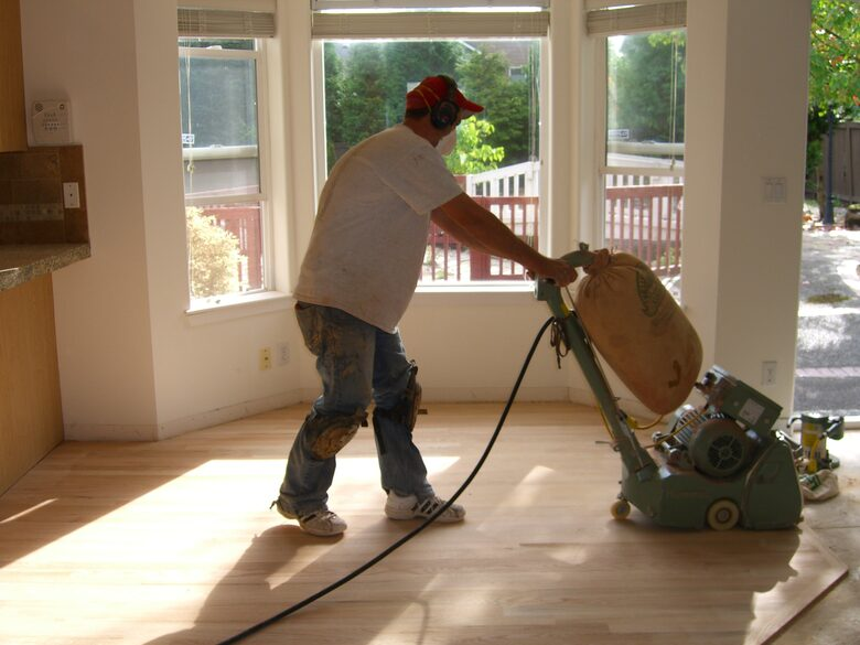 Gap filling & Finishing services provided by trained experts in Floor Sanding Hampton